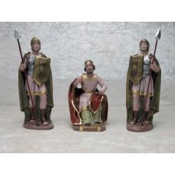 Herodes mit Soldaten 14 cm