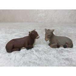Ochse und Esel 3 cm