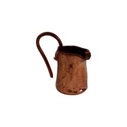 Kupferkanne mit Henkel 1,5 cm