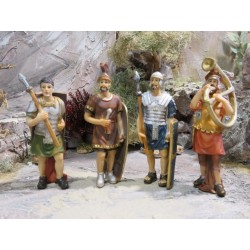 Vier Soldaten