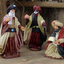 Heilige drei Könige Melchior kniend 11 cm