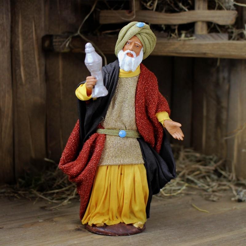 heilige drei könige balthasar 17 cm kaufen  krippenfiguren