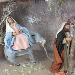 Die Herbergsuche 12cm Maria schwanger